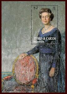 Turks & Caicos Islands. Queen Mother, 95th Birthday. 1995. Scott 1168. MNH