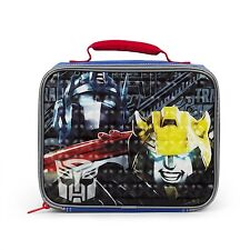 New Arrive Transformers Lunch Buddies Black Insulated Lunch Kit