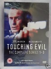 Touching Evil Complete Series 1-3 [iTV] (DVD)~~~~Robson Green~~~~NEW & SEALED