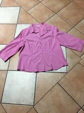 Rockmans 3/4 Sleeve Button Down Shirt Striped Tops & Blouses for Women