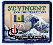 23rd world scout jamboreet ST. VINCENT AND THE GRENADINES CONTINGENT BADGE  2015