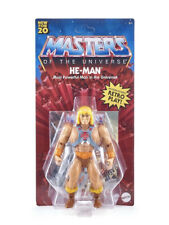 "Masters of the Universe Origins He-man 5.5"" Action Figure MOTU 2020 Retro Mattel"