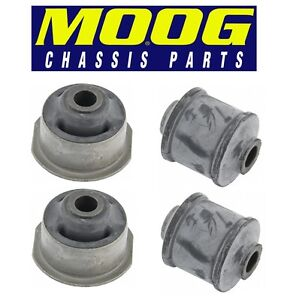 For Set of 4 Front Lower Control Arm Bushings Front & Rear Positions MOOG