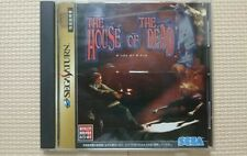 FREE SHIP USED The House of The Dead Sega Saturn SS japan