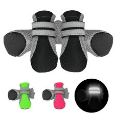 Dog Socks Anti Slip with Straps Traction Control Waterproof Paw Protector 4pcs