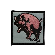 Pink Floyd Pig Embroidered Iron On Battle Patch - Officially Licensed 073-E
