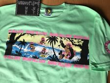 80's T&C Surf Designs T-shirt Men's  Large Mint Green