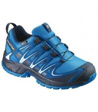 Calzado de niño zapatillas deportivas azules Salomon