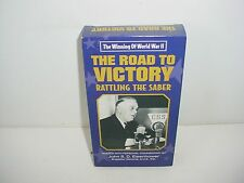 The Road To Victory Rattling Saber Winning Of World War II VHS Video Tape Movie