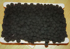 1m Perla Pom Pom Bobble Recortar Recortar Flecos Borlas Flecos Negro
