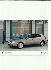 """VAUXHALL SIGNUM PRESS PHOTO """"BROCHURE RELATED"""" 5 OF"""