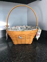 longaberger Large Easter 2000 Basket Combo In Natural