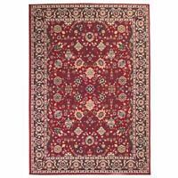 vidaXL Tapis oriental Design persan 160 x 230 cm Rouge / Beige