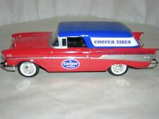57 CHEVY BEL-AIR NOMAD LIM ED. BANK TRUCK NEW W/ORIG.  BOX & PACKING 1/25 SCA.