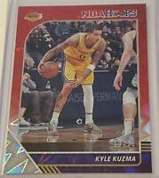 2019-20 Hoops #88 Kyle Kuzma Red Ice #13/15 LAKERS
