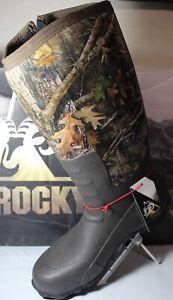 Rocky Core Rubber Waterproof Outdoor Men's Camo Boot, RKS0400AC