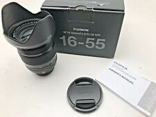 Fuji XF 16-55mm F2.8R LM WR lens with original box
