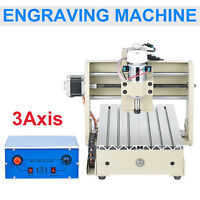 CNC 15X20CM MACH3 Router triaxial Engraver engraving machine Machine Carving!