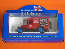 Lledo - ROYAL NATIONAL LIFE-BOAT INSTITUTION - 1934 Red Chevrolet Van