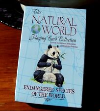 Endangered Species of the Natural World Playing Cards