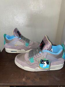 Size 10.5 - Jordan 4 Retro x Union LA Taupe Haze 2021