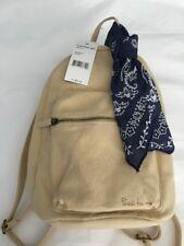 "Madden Girl  backpack 12""x 10""x6"" Khaki & Blue 100% Authentic NEW$54"