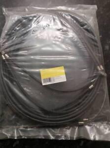 Lambretta 125 150 200 GP DL Grand Prix Black Teflon Lined Cable Set