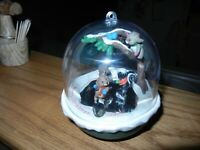 HALLMARK Magic Light And Motion Ornament Forest Frolics, 1991, 3rd in Series