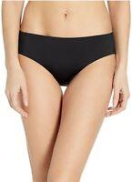 Nike 180342 Womens Solid Hipster Bikini Bottom Swimwear Black Size Medium