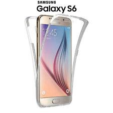 Funda Proteccion 360º Gel TPU Hibrida Transparente para Samsung Galaxy S6