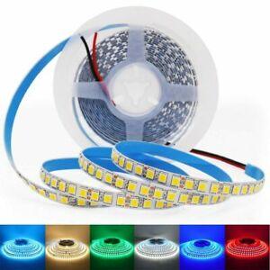 SMD 5054 LED Strip Light DC 12V 5M No/ Waterproof 120leds/m Flexible Ribbon Tape