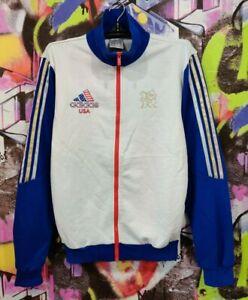 USA Team Olympic Games 2012 London Adidas Longsleeve Full Zip Jacket Top Mens S