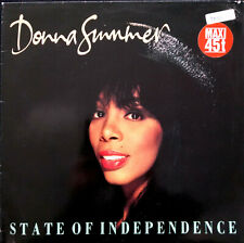"DONNA SUMMER ► STATE OF INDEPENDENCE (12"" / MAXI 45 TOURS) - VINYL"