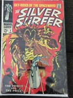 Silver Surfer 2 & 3, First Appearance of Mephisto (Marvel 1968) Grade 6.00-8.00