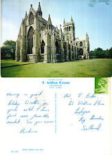 1975 SELBY ABBEY SELBY YORKSHIRE COLOUR POSTCARD