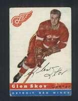 1954-55 Topps #16 Glen Skov VG/VGEX Red Wings 108261