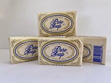 LOT OF 4 CAL BEN PURE SOAP All Natural Complexion Beauty SOAP Phosphate Free