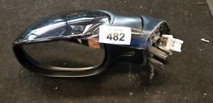CITROEN PICASSO 1998-2009 N/S PASSENGER SIDE ELECTRIC WING MIRROR BLACK