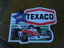 Texaco Formel 1 Aufkleber/Sticker,Sammlerstück,rar,Erstbesitzer,Nr.2