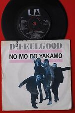 "DR.FEELGOOD NO MO DO YAKAMO/BEST IN THE WORLD 1980 RARE PROMO UK 7"" PS"