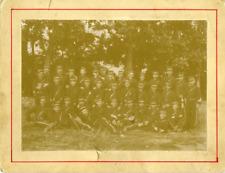 Militaires  Vintage citrate  print Tirage citrate  12x17  Circa 1895