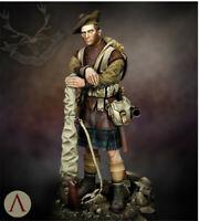1/24 Seaforth Highlander Resin Kits Unpainted Figure Model GK Unassembled