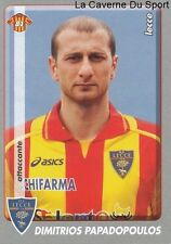 PAPADOPOULOS GREECE US.LECCE RARE UPDATE STICKER CALCIATORI 2009 PANINI