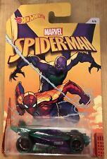 Hot Wheels Marvel Spider-Man Prowler #6/6 New