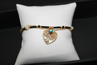 heart tree of life bracelet