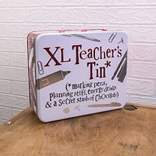 Bright Side XL Teachers Tin - Teachers Gift Idea - Teachers Storage Tin