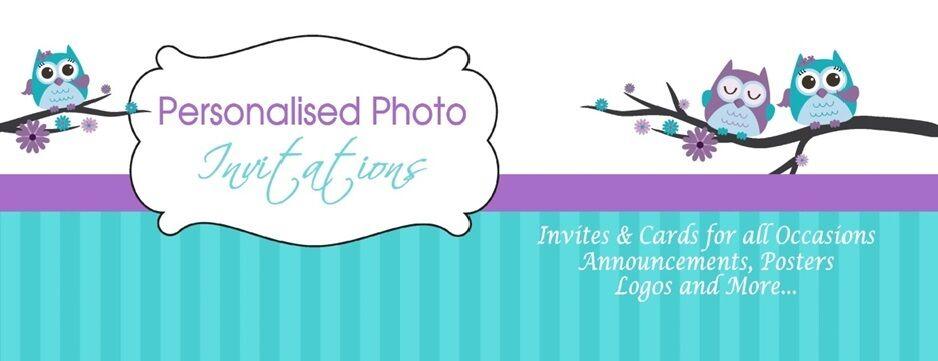 Personalised Photo Invitations