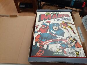 75 Years Of Marvel - SIGNED by STAN LEE & Roy Thomas - High Grade ! NEW !