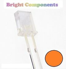 10 x Rectangle Orange LED 2x3x4mm - 1st CLASS POST - UK