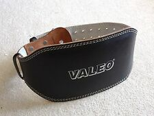 Valejo Black Leather/Suede Lifting Belt Size Small